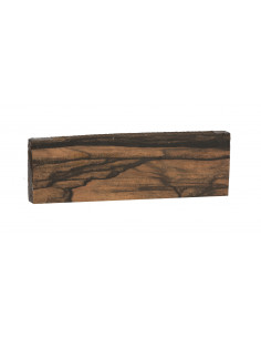 FSC 100% African Exotic Ebony Bridge (181x58x12 mm)