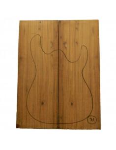 Santo Domingo Rosewood Body No 71 (550x200x50 mm)x2