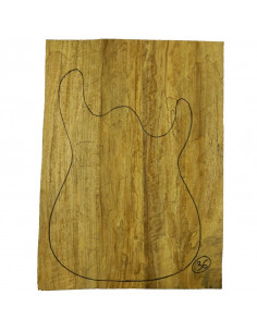 Limba Body No 36 (550x380x40/45 mm) (4 glued pieces)