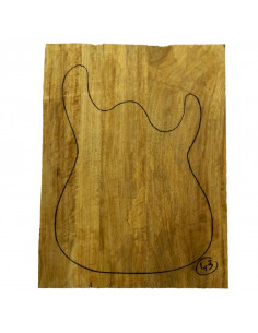 Limba Body No 43 (550x380x40/45 mm) (3 glued pieces)