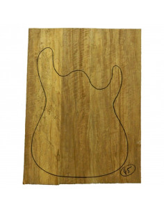 Limba Body No 45 (550x380x40/45 mm) (4 glued pieces)