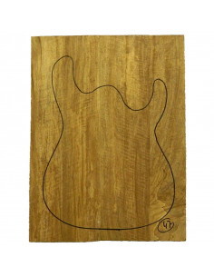 Limba Body No 47 (550x380x40/45 mm) (4 glued pieces)