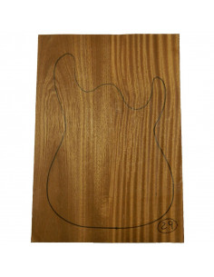 Tiama Body No 29 (550x380x50 mm) (2 glued pieces)