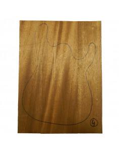Sipo Body No 4 (550x380x50 mm) (3 glued pieces)
