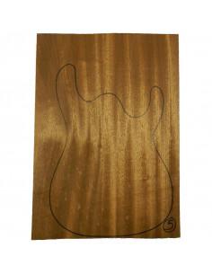 Sipo Body No 5 (550x380x50 mm) (2 glued pieces)