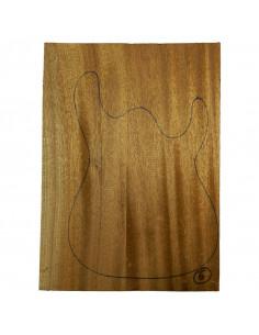 Sipo Body No 6 (550x380x50 mm) (2 glued pieces)
