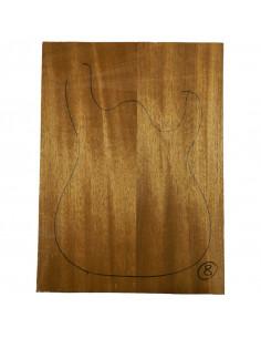 Sipo Body No 8 (550x380x50 mm) (2 glued pieces)