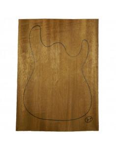 Sipo Body No 75 (550x380x50 mm) (3 glued pieces)