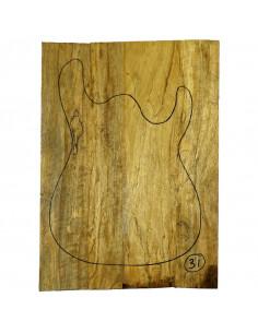 Tapa Cuerpo Limba nº 31 (550x380x15 mm) (4 piezas encoladas)