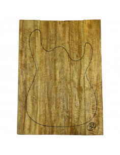 Limba Body Top No 32 (550x380x28 mm) (4 glued pieces)