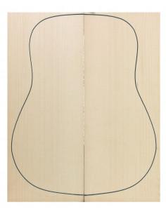 A Engelmann Spruce Acoustic Guitar Tops