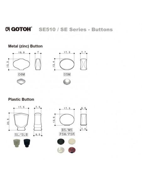 Gotoh SE700/06M-LRN White