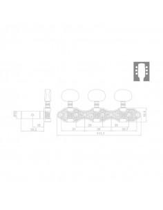 Clavijero RM-1188G-7F