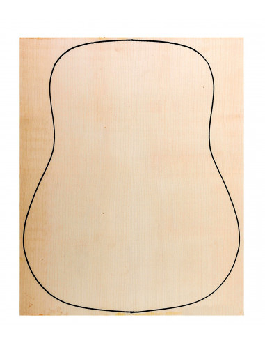 Back Sycamore Outer Face 0,5 mm. + Sycamore Inner Face (550x400x2,2/2,4 mm.)
