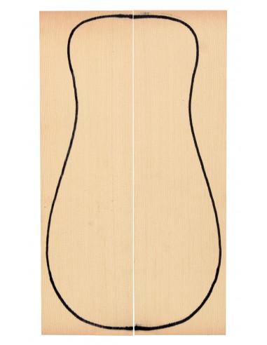European Spruce Top (320x90x3 mm)x2
