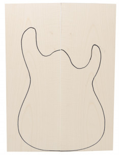 AA Curly Maple Bass / Electric Guitar Body Tops