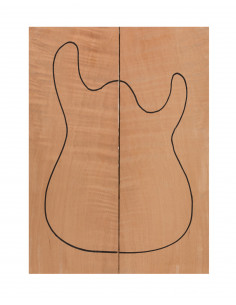 Honduras Cedar Body Tops Bass / Electric