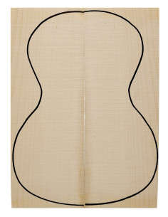 Curly Maple Concert / Tenor Back