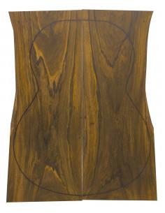 Pinhole Cocobolo Backs (550x200x4 mm)