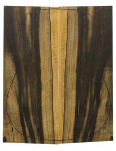 AA Ebony Backs (550x215x4,5 mm.)x2