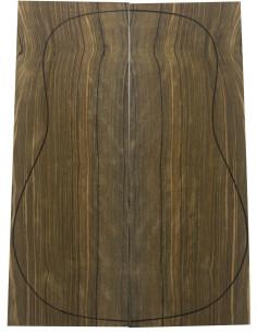 Fondos Ébano Verde Acústica (550x215x4,5 mm)x2