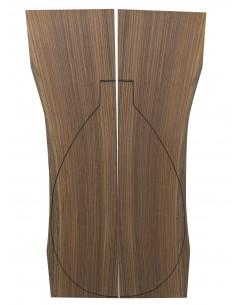 Santos Rosewood Back (460x180x4 mm)x2