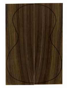 Indian Rosewood Concert / Tenor Backs