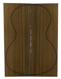 Madagascar Rosewood Concert / Tenor Backs