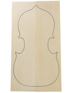 AAA German Spruce Top 2x845x245x40/10mm