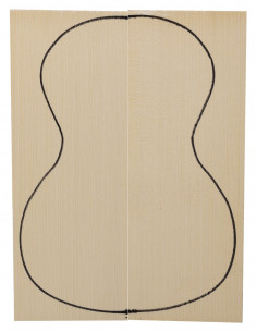 Engelmann Spruce Top (320x120x3mm)x2