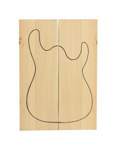 Tapas Cuerpo Tilo Guitarra / Bajo Eléctrico