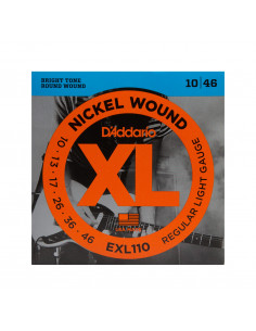 Electric G. EXL-110 D D'Addario Strings Set