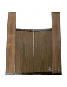 Madagascar Rosewood Set No. 51L for Clasica