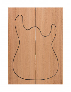 Carved Top Samanguila Guitarra / Bajo Eléctrico