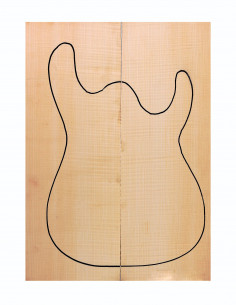 Curly Maple Bass / Electric Guitar Drop Top