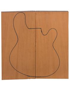 Cuerpo Caoba FSC 100% Guitarra / Bajo Eléctrico