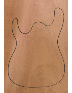 Mahogany Body (CITES) 550x380x50mm