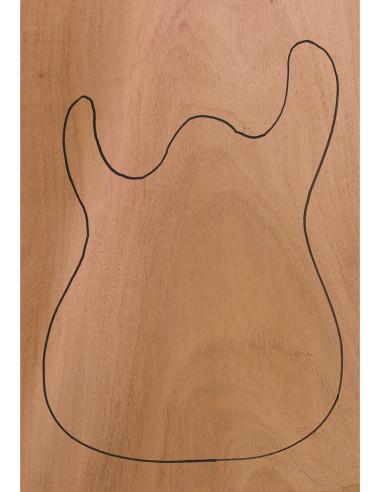 Body Caoba (CITES) 550x380x50mm