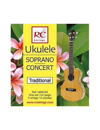 Juego Cuerdas Ukelele Royal Classics