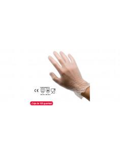 CJ100 RUBBEREX VINIL 7 S Gloves