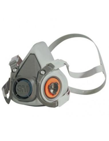 Media Máscara RESP 3M 6200 Reutilizable