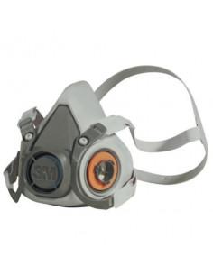 L Dark Grey 3M 6300 Half Mask