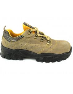Zapato Serraje Perf. Punt y Plant. Acero