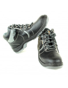 Leather Boot Toe Cap and Insole Steel