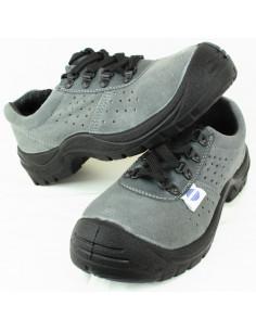 Zapato Serraje Perforado . Puntera y Plantilla Acero