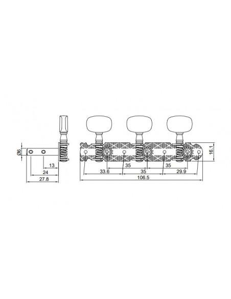 Pingwell Headmachine  RM-1251XG