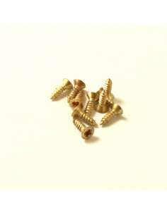 Gold Countersunk Screw