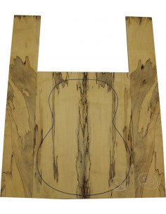 Juego Arce Spalted nº50