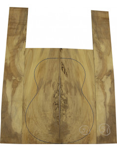 Juego Arce Spalted nº51