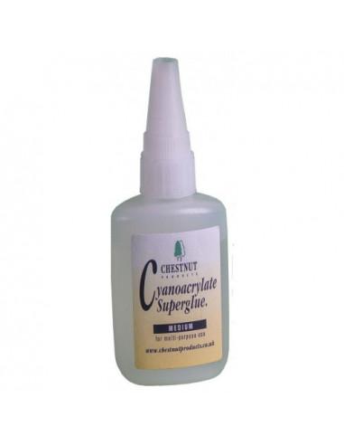 Cianocrilato viscosidad media CHESTNUT 50gr
